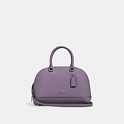 COACH 27591 Mini Sierra Satchel SV/DUSTY LAVENDER