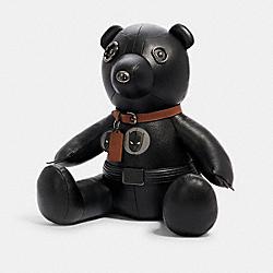 COACH 2765 Coach │ Marvel Black Panther Collectible Bear QB/BLACK