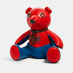 COACH 2766 Coach │ Marvel Spider-man Collectible Bear SV/BLUEJAY/RED