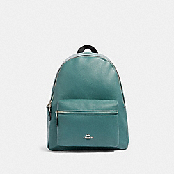 COACH 29004 Charlie Backpack SV/DARK TURQUOISE