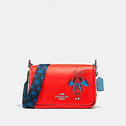 COACH │ MARVEL JES MESSENGER WITH SPIDER-MAN - 2900 - SV/MIAMI RED MULTI