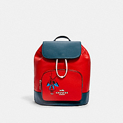 COACH │ MARVEL JES BACKPACK WITH SPIDER-MAN - 2901 - SV/MIAMI RED MULTI
