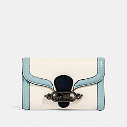 COACH 2930 - JADE MEDIUM ENVELOPE WALLET IN COLORBLOCK QB/CHALK MULTI