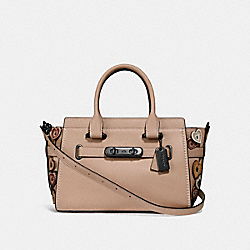 COACH SWAGGER 27 WITH HEARTS - 29328 - DK/BEECHWOOD MULTI
