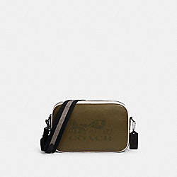 JES CROSSBODY IN COLORBLOCK - 3041 - QB/KELP MUTLI