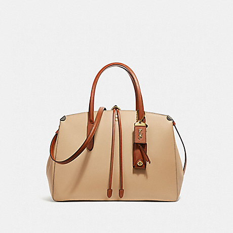 COACH 30453 COOPER CARRYALL IN COLORBLOCK BEECHWOOD-MULTI
