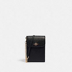 COACH 3048 - RACHEL PHONE CROSSBODY IM/BLACK