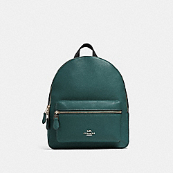 COACH 30550 - MEDIUM CHARLIE BACKPACK SV/DARK TURQUOISE