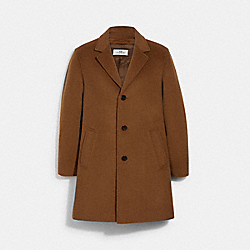 COACH 3087 - WOOL TOP COAT WALNUT