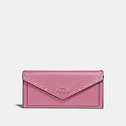 COACH 31426 Soft Wallet With Rivets B4/ROSE
