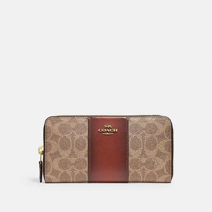 クリスマスプレゼントにおすすめなお財布はコーチのカラーブロックです