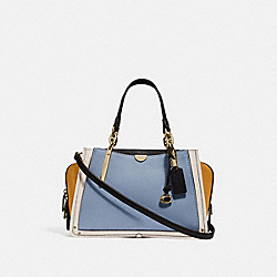 COACH 31633 - DREAMER IN COLORBLOCK MIST STRAW MULTI/BRASS