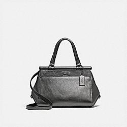 COACH 31709 Grace Bag 20 METALLIC GRAPHITE/DARK GUNMETAL