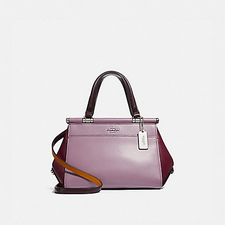 COACH 31919 GRACE BAG 20 IN COLORBLOCK SILVER/JASMINE-MULTI