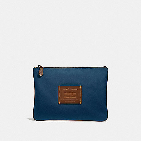 COACH 32174 MULTIFUNCTIONAL POUCH BRIGHT NAVY