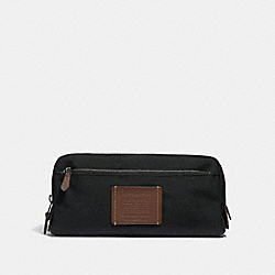 COACH 32183 - DOUBLE ZIP DOPP KIT BLACK