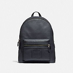 COACH 32235 Academy Backpack MIDNIGHT NAVY/BLACK COPPER FINISH
