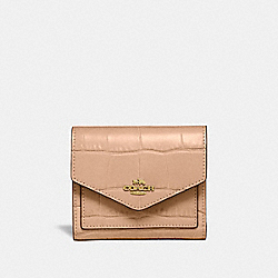 SMALL WALLET - 32486 - GOLD/BEECHWOOD