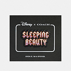 COACH 32528 - DISNEY X COACH SLEEPING BEAUTY STICKER BLACK MULTI