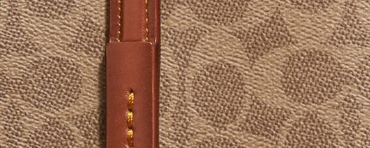 黄銅色金屬配件/橙紅色