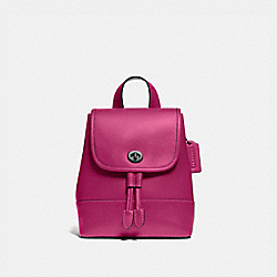 COACH 3334 - TURNLOCK BACKPACK V5/CERISE