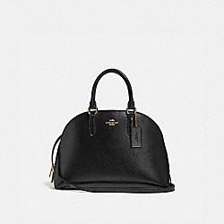 COACH 33404 Quinn Satchel LI/BLACK