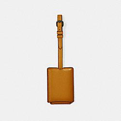 COACH 33700 Luggage Tag AMBER
