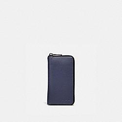 COACH 34584 - ZIP AROUND PHONE WALLET CADET