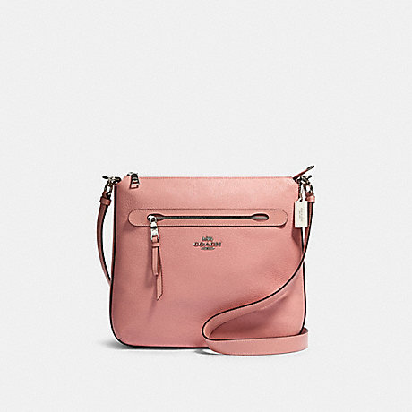 COACH 34823 MAE FILE CROSSBODY SV/LIGHT-BLUSH