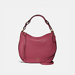 COACH 35593 Sutton Hobo GOLD/DUSTY PINK