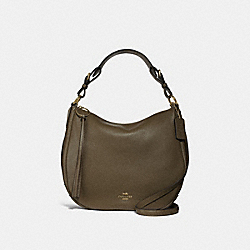 COACH 35593 Sutton Hobo GOLD/MOSS