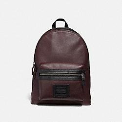 COACH 35604 Academy Backpack OXBLOOD/BLACK ANTIQUE NICKEL