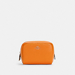 MINI BOXY COSMETIC CASE - IM/SUNBEAM - COACH 3587