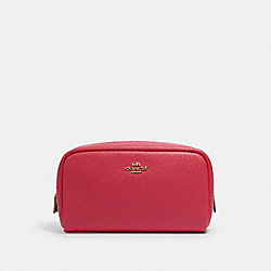 COACH 3590 Small Boxy Cosmetic Case IM/ELECTRIC PINK