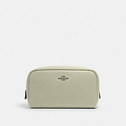SMALL BOXY COSMETIC CASE - 3590 - SV/PALE GREEN