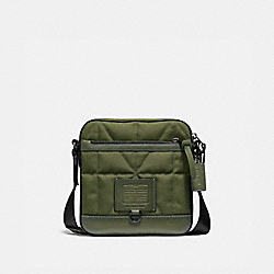 COACH 36082 Rivington Crossbody With Quilting GLADE/BLACK COPPER FINISH