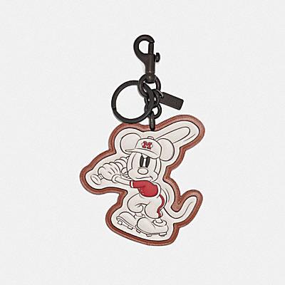 DISNEY X COACH ベースボール ミッキーマウス バッグ チャーム