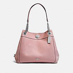 COACH 36855 Turnlock Edie Shoulder Bag BLOSSOM/SILVER