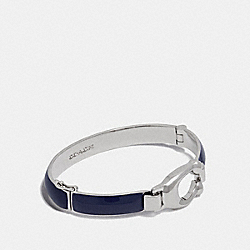 COACH 36892 - SIGNATURE TENSION BANGLE CADET/SILVER