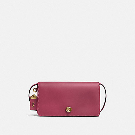 COACH 37296 DINKY BRASS/DUSTY-PINK