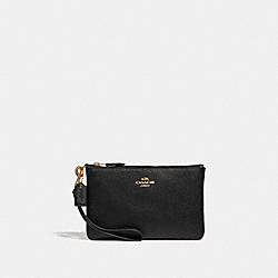 COACH 37389B Boxed Small Wristlet LI/BLACK