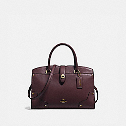 MERCER SATCHEL 30 - 37575 - LI/OXBLOOD
