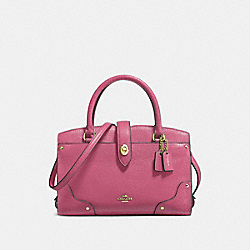 COACH 37779 Mercer Satchel 24 LI/ROUGE