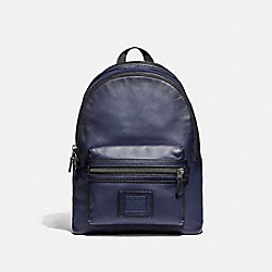COACH 37842 Academy Backpack CADET/BLACK COPPER FINISH