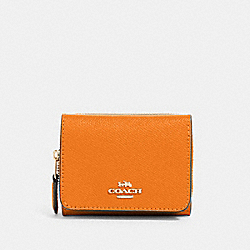 COACH 37968 Small Trifold Wallet IM/SUNBEAM