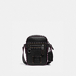 COACH 37970 Dylan 10 With Rivets BLACK/BLACK COPPER FINISH