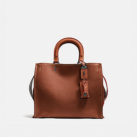 COACH 38124 ROGUE 1941-SADDLE/BLACK-COPPER