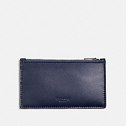 COACH 38144 - ZIP CARD CASE CADET