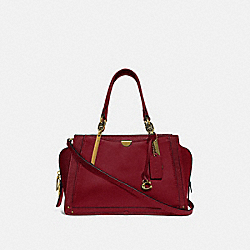 COACH 38551 - DREAMER BRASS/DEEP RED