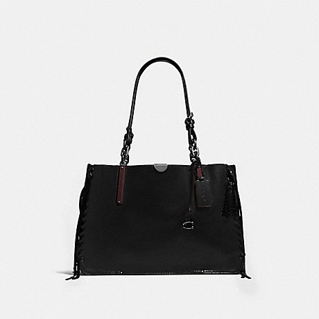 COACH 39235 DREAMER TOTE 36 PEWTER/BLACK